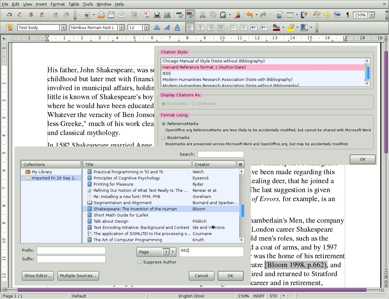 procite dissertation Endnote is the industry standard software tool for publishing and managing bibliographies, citations and references on the windows and macintosh desktop.